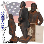 Click to view larger image of antique sand cast - Robert E. Lee DOORSTOP   (Image3)