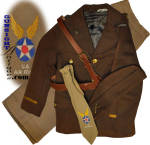 Click to view larger image of WW II - CHILDS ARMY AIR CORPS UNIFORM (Image2)