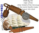 Click to view larger image of c. 1868 CARVED WHIMSY -  of Capt. Alexander Winsor / Clipper Ship Herald of the Morning (Image1)