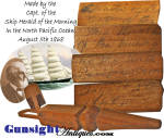 Click to view larger image of c. 1868 CARVED WHIMSY -  of Capt. Alexander Winsor / Clipper Ship Herald of the Morning (Image2)
