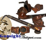 Click to view larger image of Civil War era - CARVED TOBACCO PIPE (Image2)