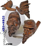 Click to view larger image of Civil War era - CARVED TOBACCO PIPE (Image4)