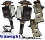 Click to view larger image of exceptionally nice mid 1800s CARRIAGE LAMP pair (Image2)