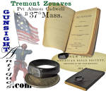 Click to view larger image of 'Tremont Zouaves' (Co. B 37th Mass.) - Wounded at Gettysburg – Signet Ring & Psalms Book  (Image2)