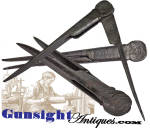 Blacksmith forged - 18th century artisan - Compass / Divider