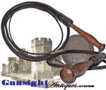 Click here to enlarge image and see more about item 5936: 19th century - West Virginia Penitentiary made - DROVER WHIP