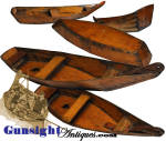 Click to view larger image of Rare!   handcrafted  Whaling Skiff BUILDER'S MODEL (Image2)