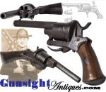 Click to view larger image of private purchase  Lefaucheux Pinfire Revolver (Image2)