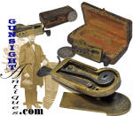 Click to view larger image of Revolutionary War vintage - CASED MECHANICAL FLEAM (Image3)