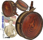 Click here to enlarge image and see more about item 60113: nice! – CONFEDERATE CEDAR CANTEEN