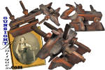 Click to view larger image of ANTIQUE WOOD PLANE, PLOW PLANE (Image2)