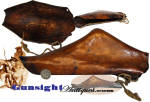 Click to view larger image of rarely surviving! 18th early 19th century - Deer Hide FLINTLOCK BOOT (Image2)