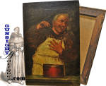 19th century Monk – OIL PAINTING