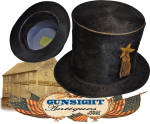 Click to view larger image of earlier 19th century through Civil War era STOVEPIPE HAT (Image2)