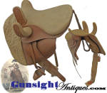 Click to view larger image of c. 1840s - 1850s extra quality - Side Saddle with Slipper Stirrup (Image3)
