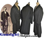 Click to view larger image of Civil War vintage Gentleman's FROCK COAT (Image2)