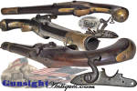 Click to view larger image of S C marked - Civil War import  Austrian Cavalry Pistol  (Image3)