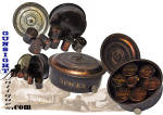 Civil War era undersize - TRAVELING SPICE SET