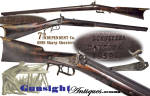 Click to view larger image of rare!  E. Remington Jr. barreled - Ohio made & 7th Ohio Sharpshooters carried – SHARP SHOOTER RIFLE (Image4)