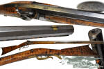 Click to view larger image of rare!  mid 1800s – Jones & Kelsall - PERCUSSION RIFLE (Image2)