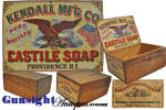 Click to view larger image of Civil War vintage CASTILE SOAP BOX (Image1)