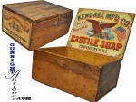 Click to view larger image of Civil War vintage CASTILE SOAP BOX (Image3)