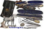 Click to view larger image of Civil War era Veterinary - Surgical & Hoof Maintenance - KIT (Image3)