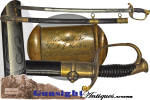Click to view larger image of Civil War - Maine Presentation Mod. 1850 Foot Officer Sword – Port Hudson siege &  assault   (Image2)