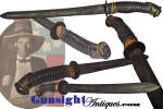 Click to view larger image of CS Foot Officer Sword made - Confederate SIDE KNIFE   (Image2)