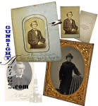 ¼ plt. Tintype & CDV of:  controversial Civil War era Clergyman / Orator  -  Rev. Elias Root Beadle