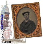 Click to view larger image of  Medal of Honor / POW -  Enlisted– Civil War Navy AMBROTYPE (Image3)