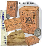 unopened - Howe & Stevens Civil War vintage – Pat. 1863 DYE PACKET