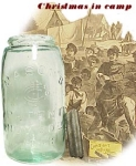 Click here to enlarge image and see more about item 956: Pat. 1858  PRESERVE JAR