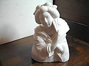 Art Deco Japanese Lady String Holder
