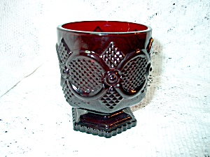Avon Cape Cod Ruby Red Footed Tumbler