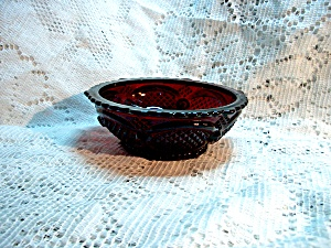 Vintage Avon Cape Cod Ruby Red Fruit/dessert Bowl