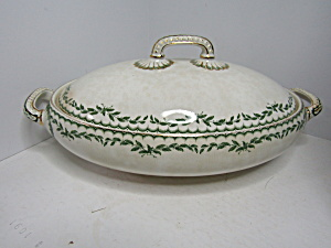 Antique Furnivals Limited Croydon China Covered Bowl