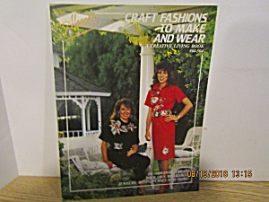 Aleene's Crafts Fashions To Make & Wear #14-504