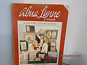 Alma Lynne Cross Stitch Country Cat Collection #64