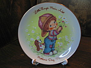 Avon Little Things 1982 Mother's Day Plate
