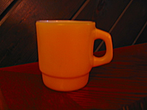 Anchor Hocking Yellow Coffee Mug