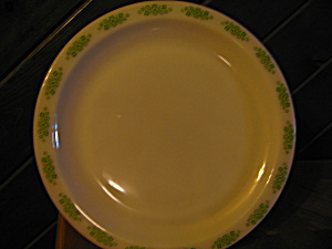 "Anchor Hocking Springwood 12"" Platter"