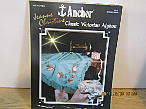 Anchor Classic Victorian Afghan Crossstitch Book #17915