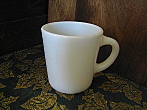 White Anchor Hocking Coffee Mugs