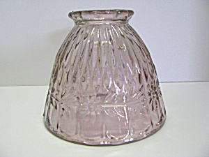 Anchor Hocking Pink Depression Glass Light Globe