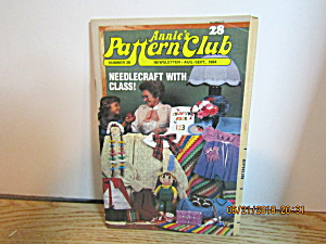 Annie's Pattern Club Newsletter 1 Aug/sept 1984 #28