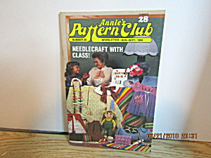 Annie's Pattern Club Newsletter 2aug/sept 1984 #28