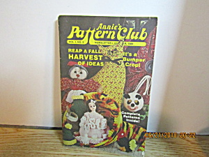 Annie's Pattern Club Newsletter Oct 1980 Vol. 1 #5