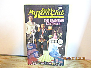 Annie's Pattern Club Newsletter 1 Dec/jan 1985 #30