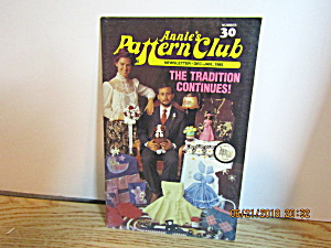 Annie's Pattern Club Newsletter 2 Dec/jan 1985 #30
